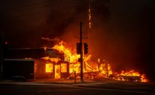 USA: cinq morts dans le violent incendie qui ravage le nord de la Californie