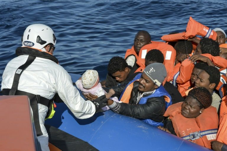 According to the UN, at least 4,700 people have died this year attempting the often perilous crossing from Libya on boats chartered by people smugglers who frequently abandon their human cargo soon after the departure