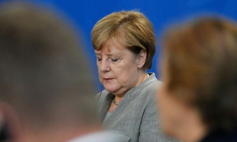 The CSU has attacked Chancellor Angela Merkel's migration policy in an attempt to recapture voters drifting to the far-right