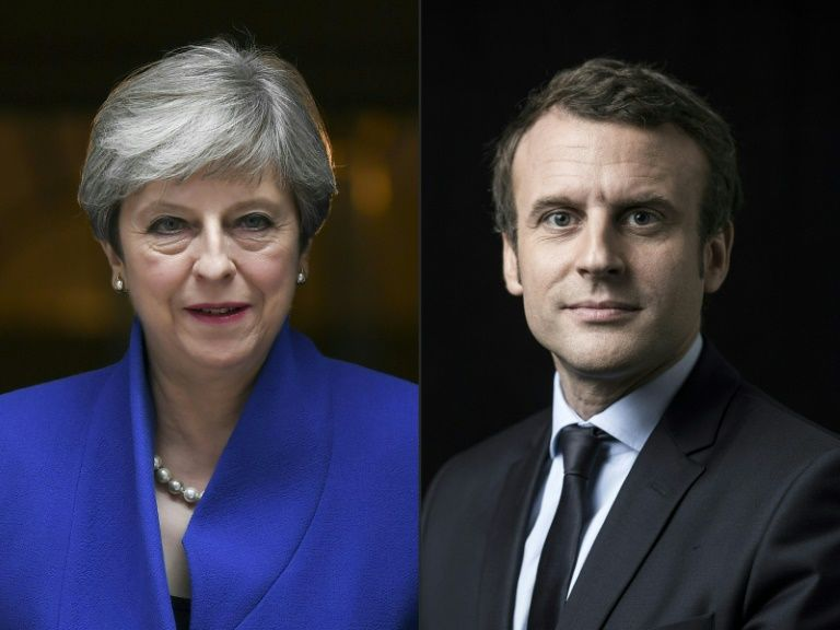 #Brexit: Macron tells May the door is still open