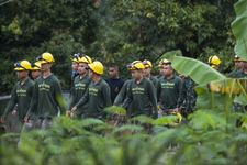 Eight boys said rescued from Thai cave as mission enters second day