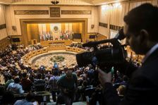 The Arab League meeting in Cairo on November 19, 2017 was called by Saudi Arabia