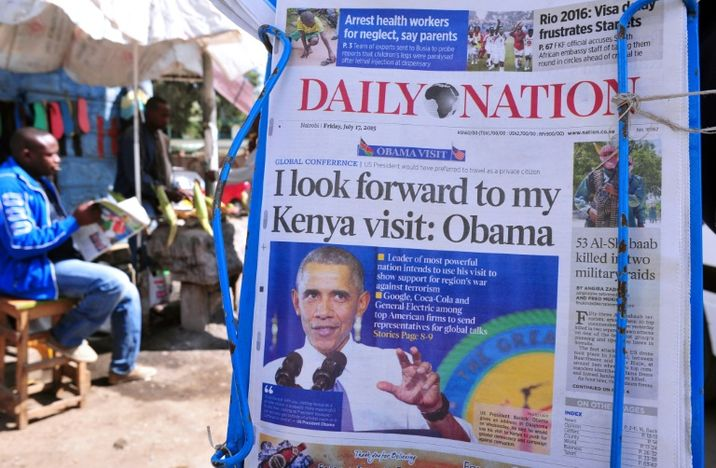 i24NEWS - A village dreams of Barack Obama's Kenyan homecoming