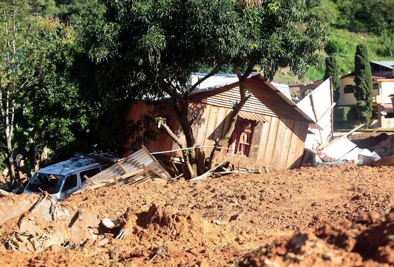 Coulée de boue meurtrière — Colombie