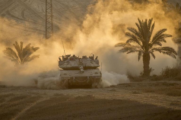 Gaza: Tsahal vise une position du Hamas suite à un tir de roquette sur Israël