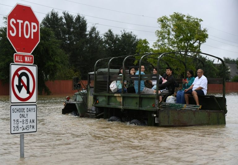 In Houston, Authorities Are Toughening Penalties As Warning To Would-Be Looters