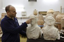 Israeli woman stumbles upon Roman busts near ancient ruins