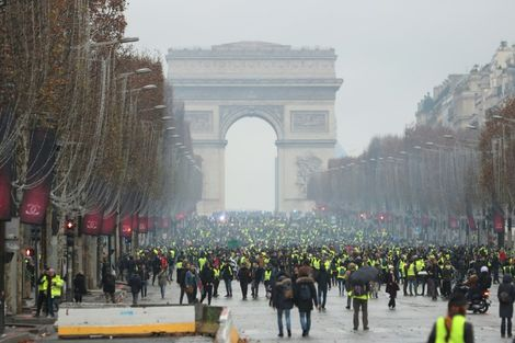 """It is unclear whether as many """"yellow vest"""" protestors will turn out as on previous weekends"""
