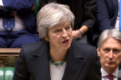 Brexit: Theresa May donnera une conférence de presse jeudi (Downing Street)