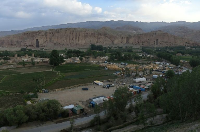 The quiet in Bamiyan is broken only by the echoes of muezzins