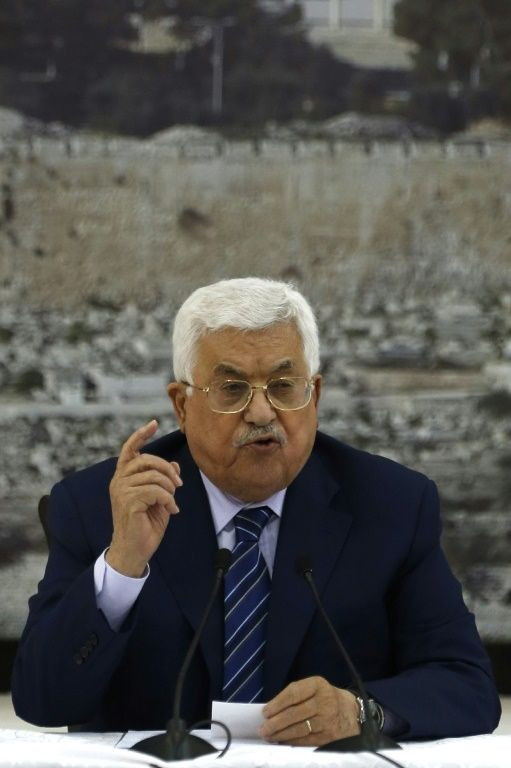 Abbas says ties with Israel to remain frozen