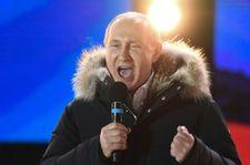 Putin breezes into fourth term as Russia's president