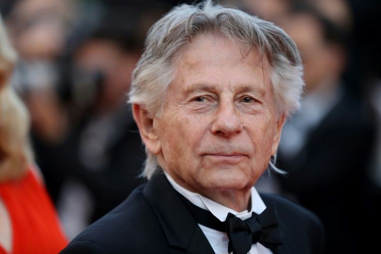 Le cinéaste franco-polonais Roman Polanski pose le 23 mai 2017 au festival de  Cannes, France