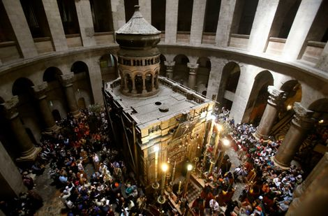 Christian leaders close church at Jesus's burial site over Israeli tax measures