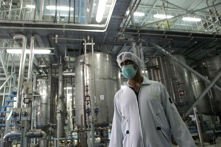 """L'Iran menace de revenir à l'uranium hautement enrichi en """"5 jours"""""""