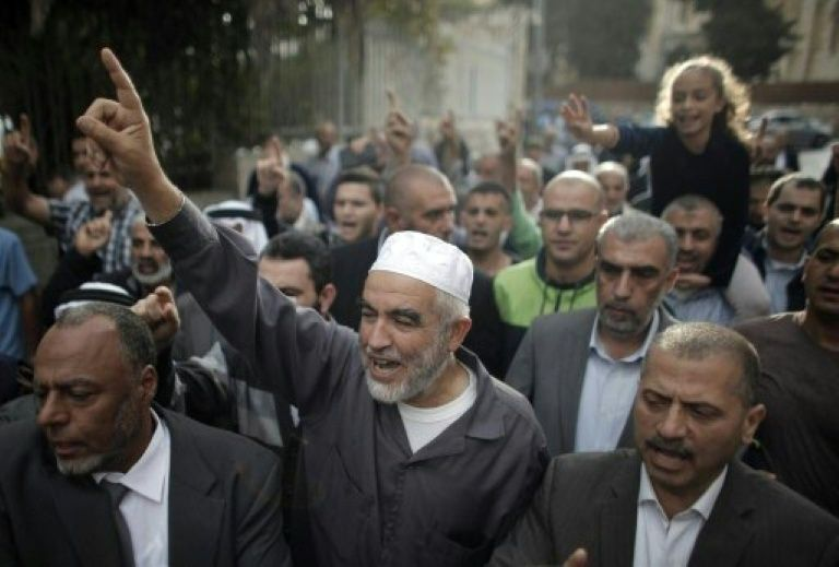 Sheikh Raed Salah arrested on suspicion of inciting to violence
