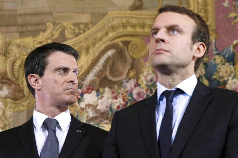 French ex-prime minister Valls plans to back Macron in June elections