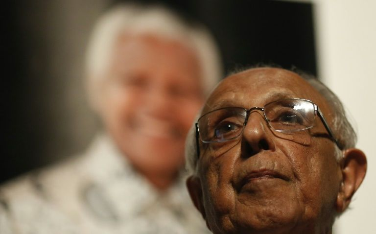 South African anti-apartheid icon Ahmed Kathrada dies aged 87