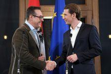 Autriche: la droite et extrême droite scellent leur accord de gouvernement