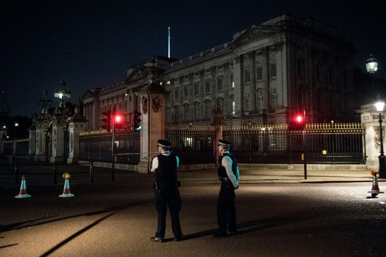 Buckingham Palace 'sword man' charged with planning terror act