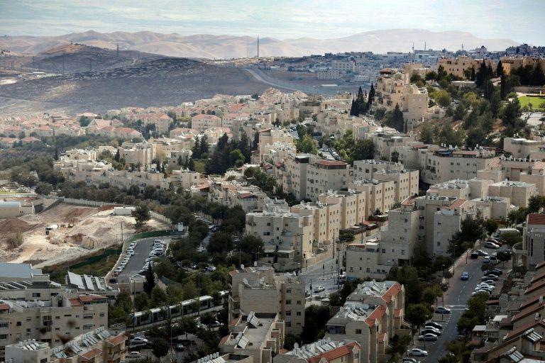 La colonie de Pisgat Zeev, le 27 septembre 2016 à Jérusalem-Est