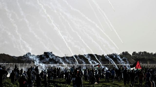 Frontière Israël/Gaza: un garde-frontière légèrement blessé
