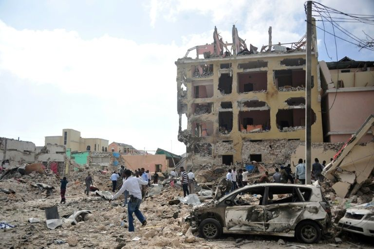 At least five dead after car bomb explosion in Mogadishu