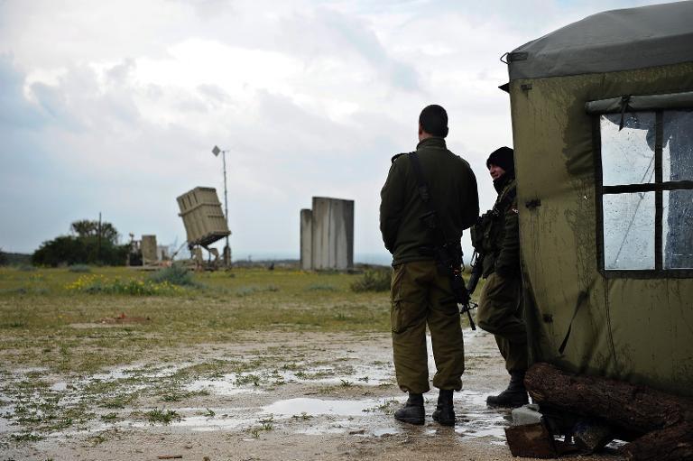 Israël bombarde une position du Hamas à Gaza
