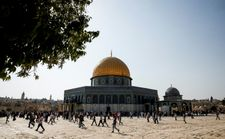 Israel arrested six suspects waving Hamas flags at Temple Mount