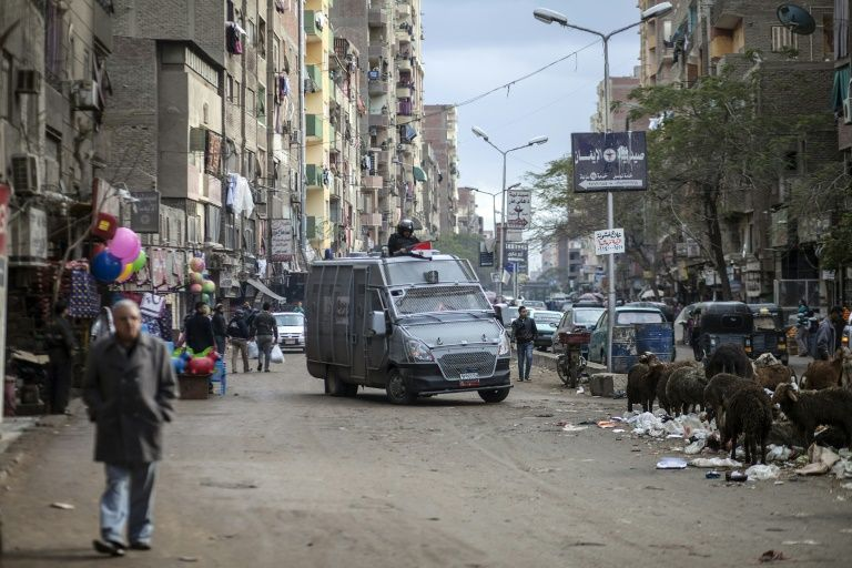 Five policemen killed in attack south of Cairo