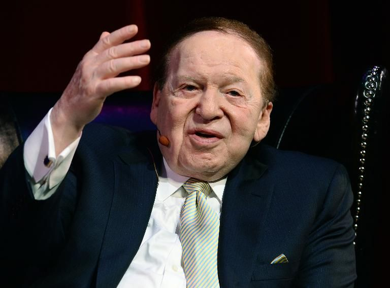 Sheldon Adelson says Trump likely to be 'best president for Israel ever'