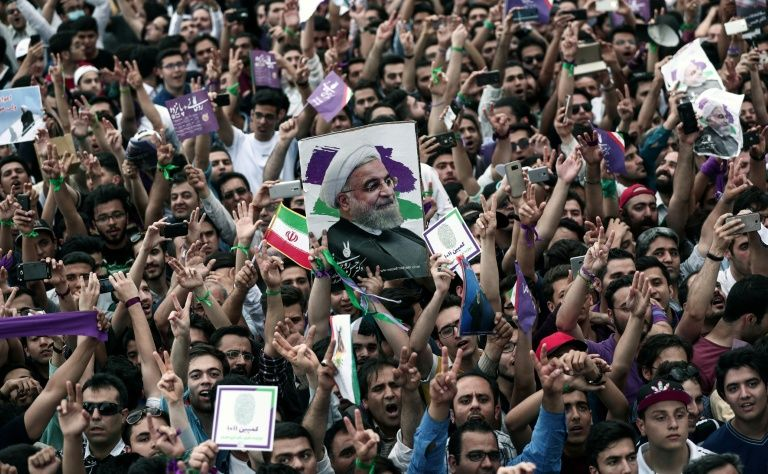 Hundreds Of Iranians Protest High Prices In Northeastern City Of Mashhad