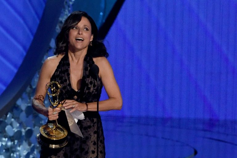 "Julia Louis-Dreyfus won a fifth consecutive Emmy for her role as the hapless acting president on HBO's ""Veep"""