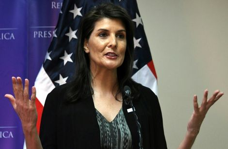 US steps up threat to quit UN rights council over 'gross Israel bias'