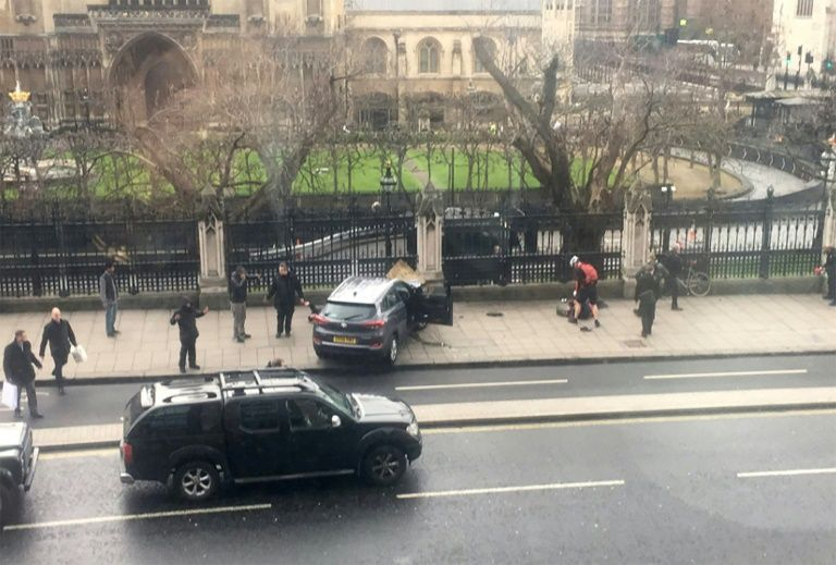 World stands 'firmly and resolutely' with Britain after U.K. Parliament attack