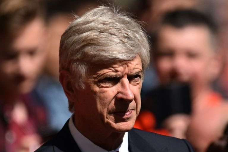 Arsenal's French manager Arsene Wenger is out of contract at the end of the current campaign and has yet to sign a new deal