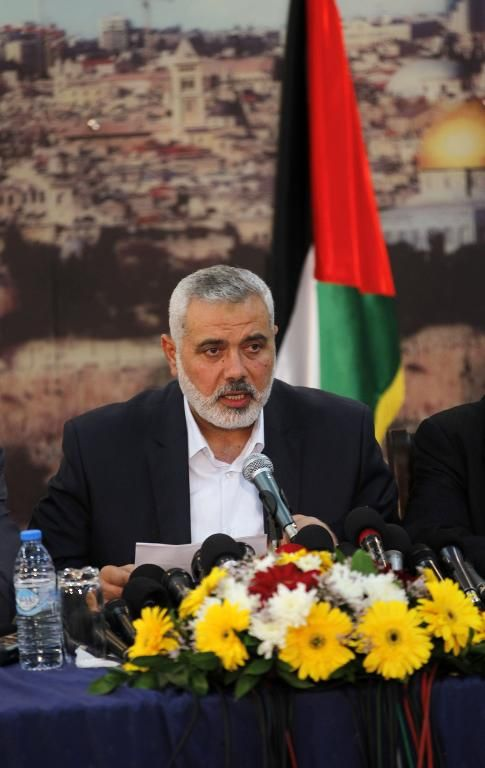 On Gaza return, Hamas leader reiterates call for reconciliation