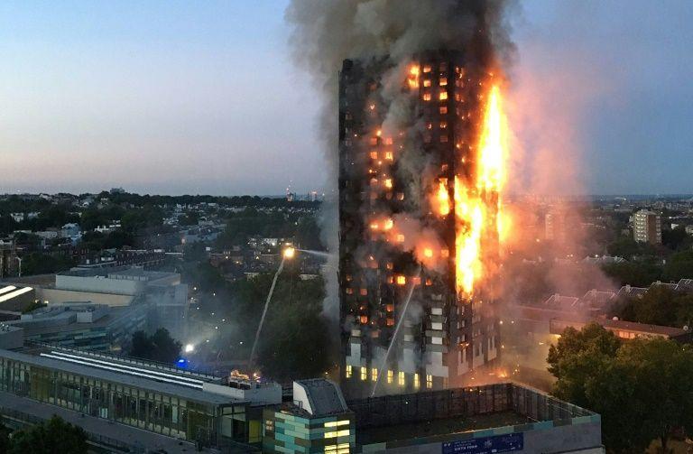 La France propose son aide pour déterminer les causes de l'incendie — Londres
