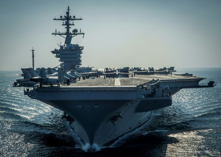 US supercarrier due in Sea of Japan 'in days': Pence
