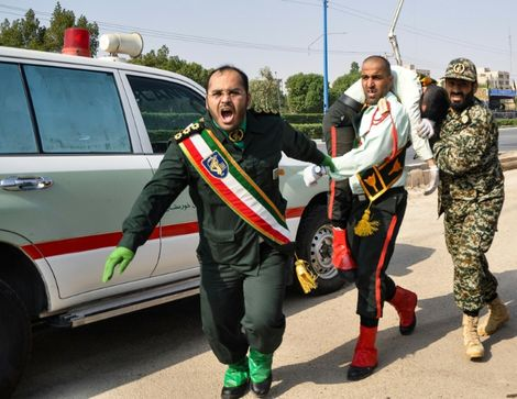 The Islamic State group has claimed responsibility for the parade attack in southwestern Iran