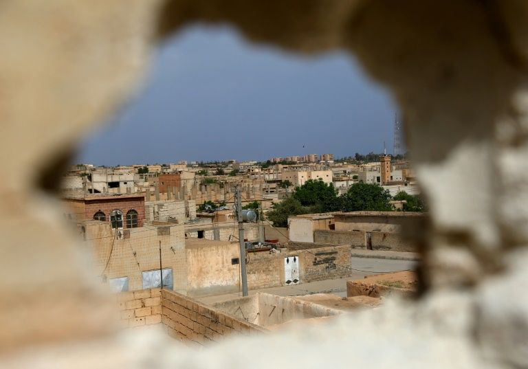 Backed militias say they made new advance against Islamic State in Tabqa