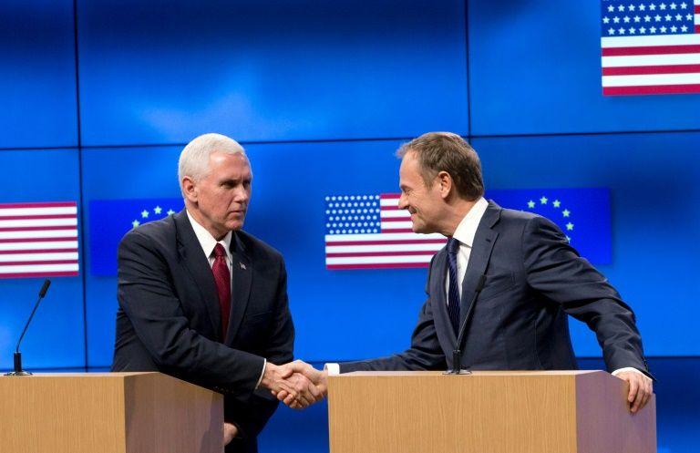 Pence affirms US support for NATO despite campaign rhetoric