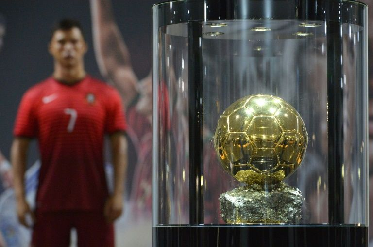 A wax statue of Cristiano Ronaldo and a FIFA Ballon d'Or are displayed at the new location of the CR7 museum dedicated to Ronaldo's professional career, on the Portuguese island of Madeira