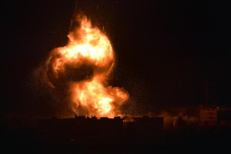 Four years of coalition strikes on Syria kill 3,300 civilians: monitor