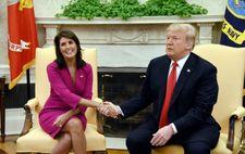 السفيرة الامريكية لدى الأمم المتحدة تستقيل من منصبها بصورة مفاجئة