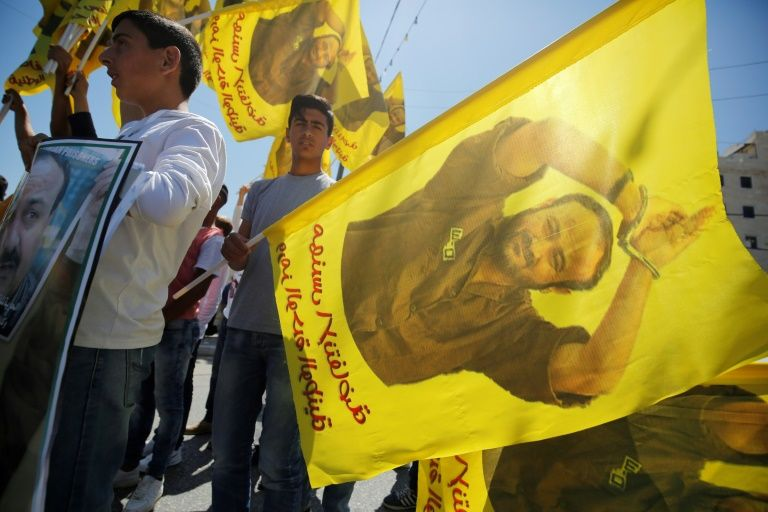 13 Palestinian protesters said injured by Israeli forces over mass hunger strike