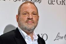 Le producteur américain Harvey Weinstein à Antibes, France, le 23 mai 2017