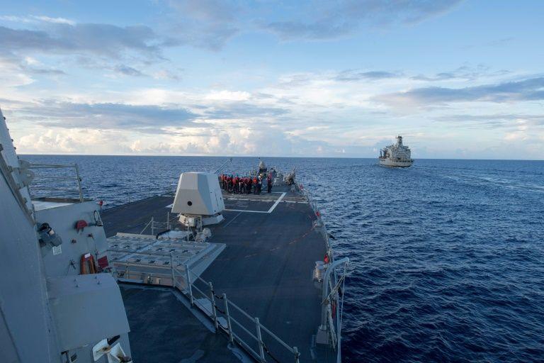 """Mer de Chine: le navire américain est entré """"sans permission"""", selon Pékin"""