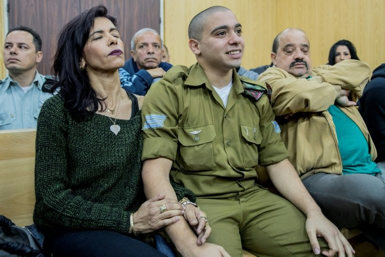 Family of Hebron shooter Azaria implore Israel's parliament to back pardon