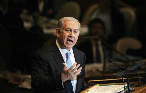 Le Premier ministre israélien Benjamin Netanyahu à New York, le 23 septembre 2011